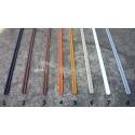 Prowadnice do szyb terrarium jednotorowa PCV - 10cm