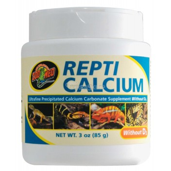 Repti Calcium wapno bez witaminy D3 85g ZOO MED